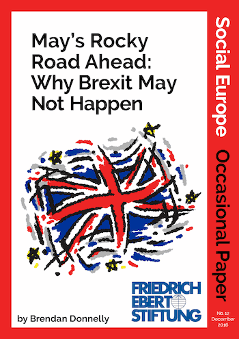 OP12: May's Rocky Road Ahead: Why Brexit May Not Happen